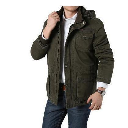Winter Rocker Guys Jacket-Green-L-