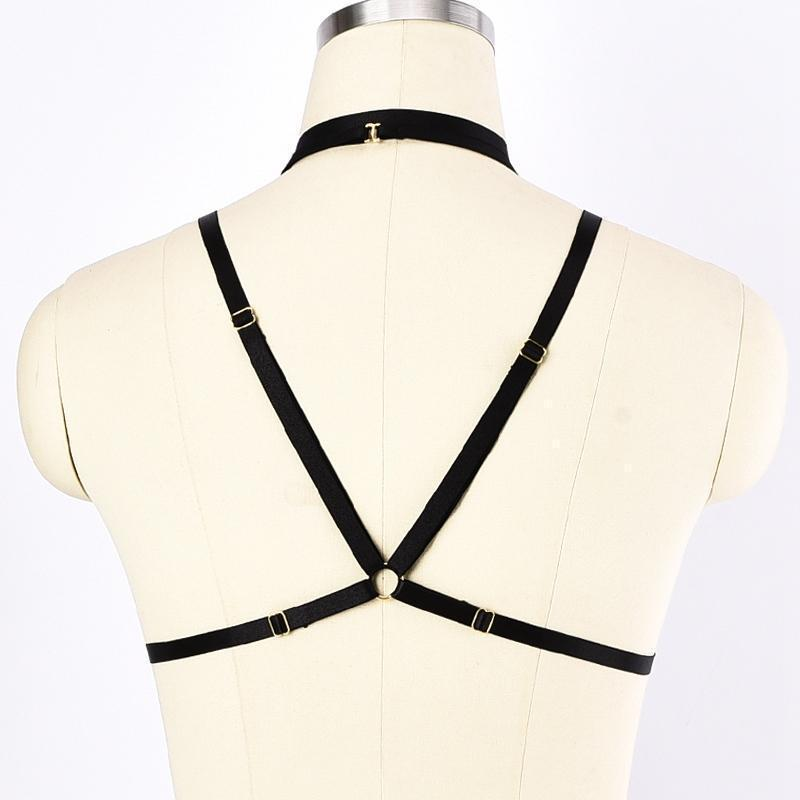 Women's Beautiful Tasseled Harness - The Black Ravens