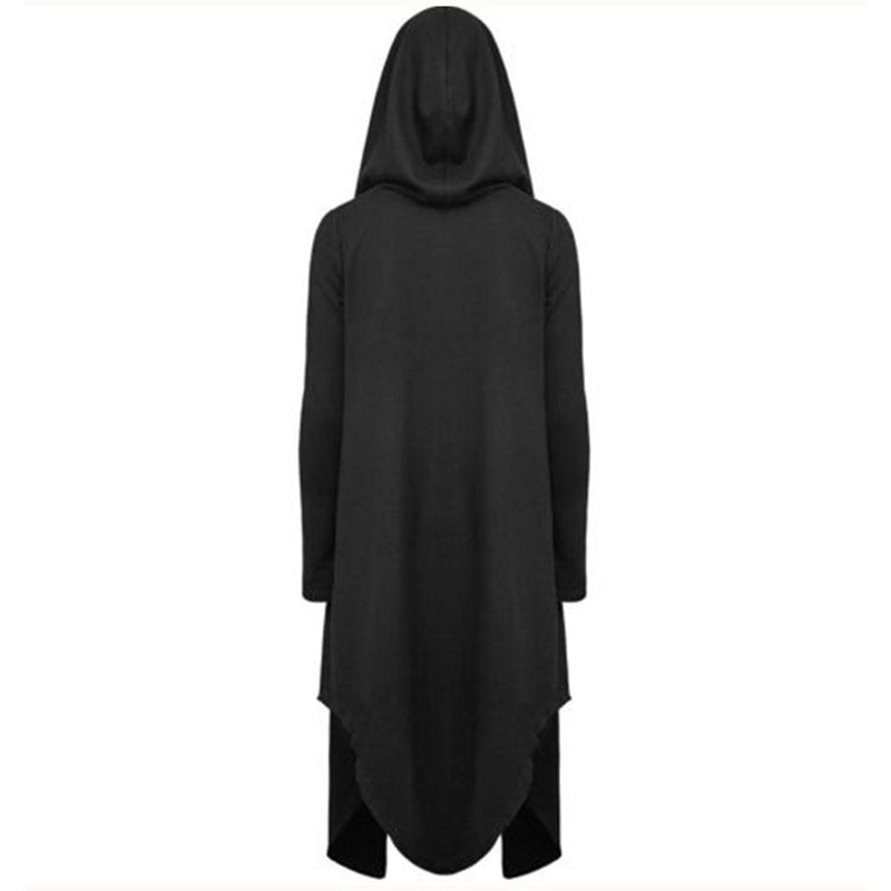 Women's Casual Long Coat - The Black Ravens