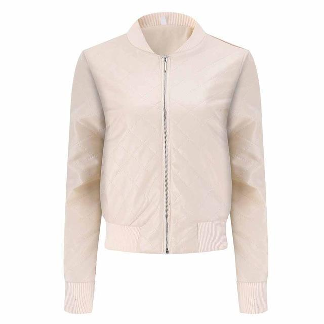 Women's Casual Winter Coat-Light Apricot-S-