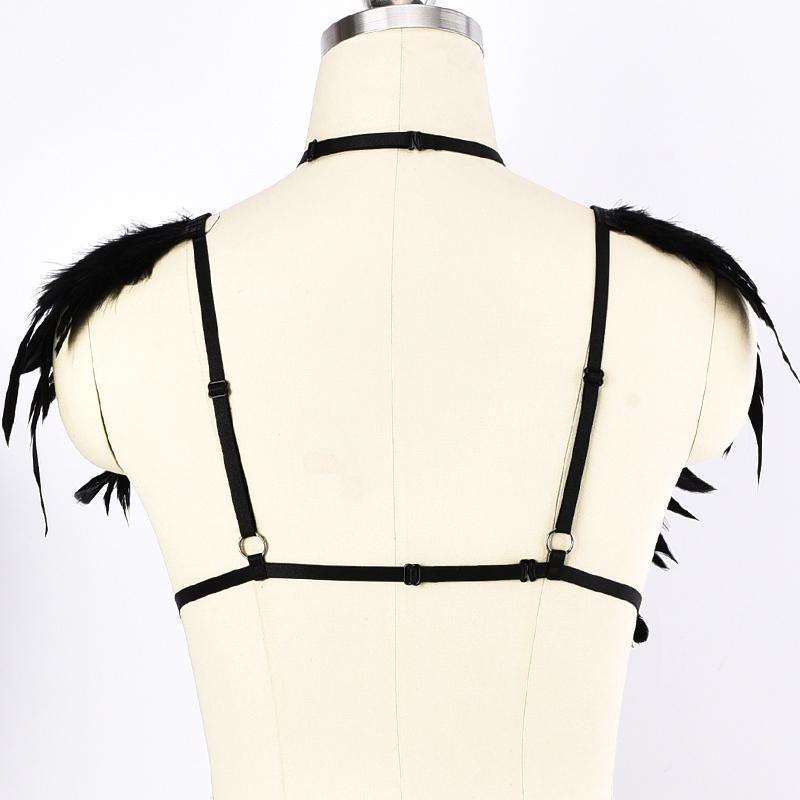 Women's Choker Chest Cage-