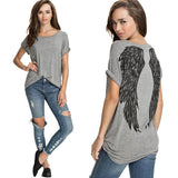 Women's Cute Angelic Top-1-S-