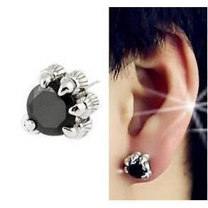 Women's Mythical Crystal Dragons Earpiece-