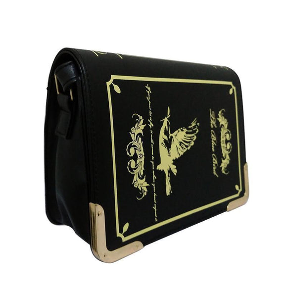 Women's Spellbook Occult Bags-Black-