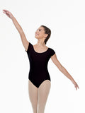 Short Sleeve Revolution Black Leotard