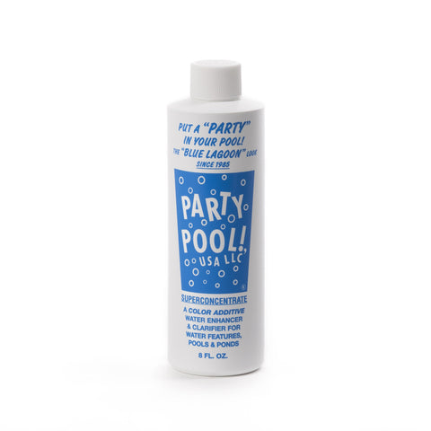 Party Pool Blue Lagoon Water Dye, 8 Oz.