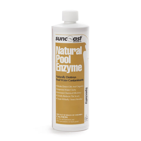 Suncoast Natural Pool Enzyme, Qt.
