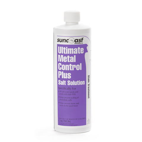 Suncoast Ultimate Metal Control Plus Salt Solution, Qt.