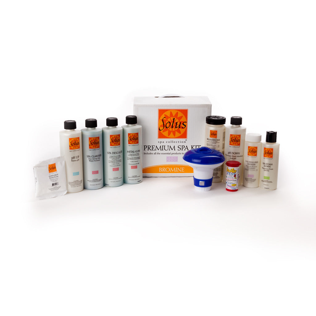 View Solus Spa Start Up Kit For Bromine Treated Spas Product