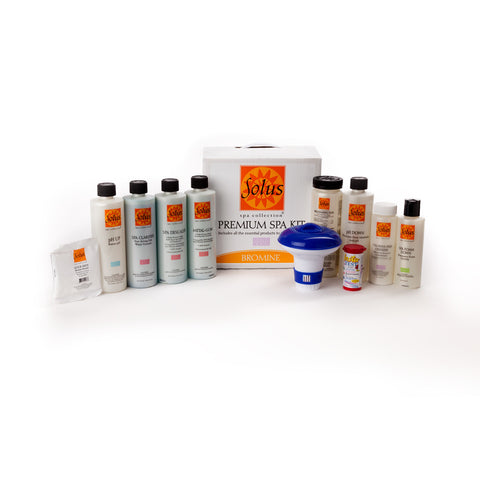 Solus Spa Start Up Kit For Bromine Treated Spas