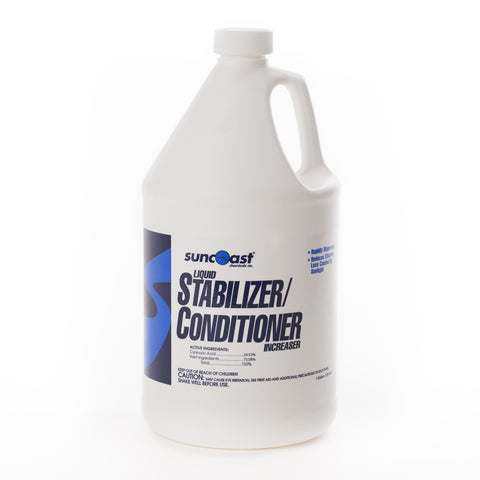 Suncoast Liquid Stabilizer/Conditioner Increaser, 1 Gallon