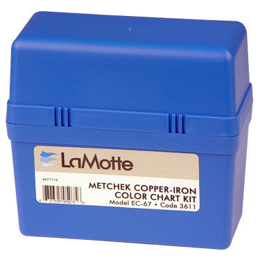 LaMotte Copper & Iron Metcheck Pool Water Test Kit