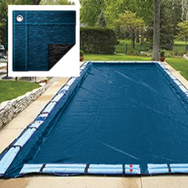 Blue Wave Bronze 8-Year 12-Ft X 20-Ft Rectangular In Ground Pool Winter Cover