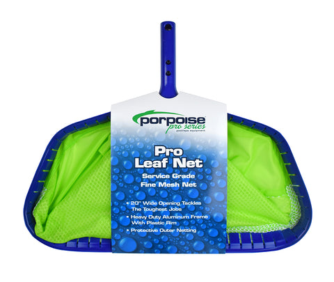 Porpoise Pro Service Grade Leaf Net with Fine Mesh 2 Panel Bag