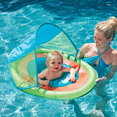 Baby Spring Float With Sun Canopy