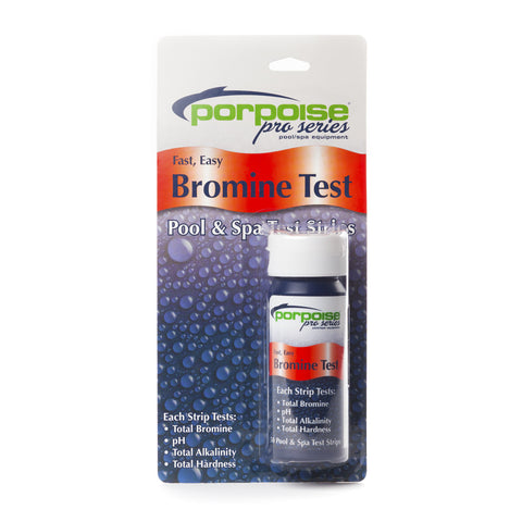 Porpoise Pro Series 4-Way Bromine Test Strips