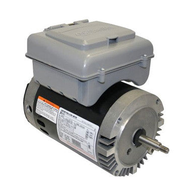 Century 2Green 1 HP 2-Speed Round Flange Motor withTimer