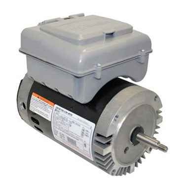 2Green 1.5 HP 2 Speed Round Flange Motor With Timer
