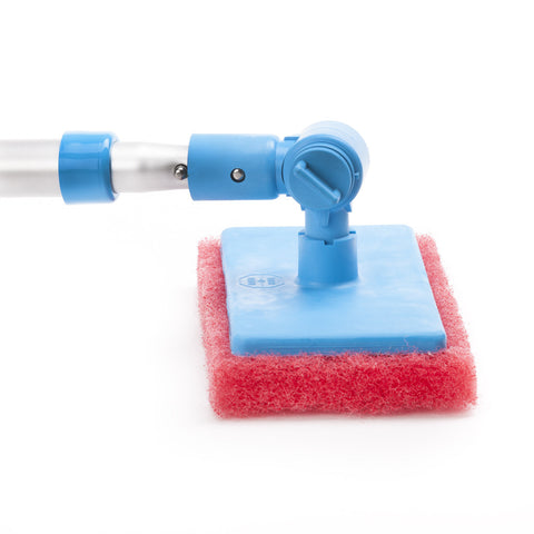 Adjust-A-Brush Scrub Pad with Telescopic Handle