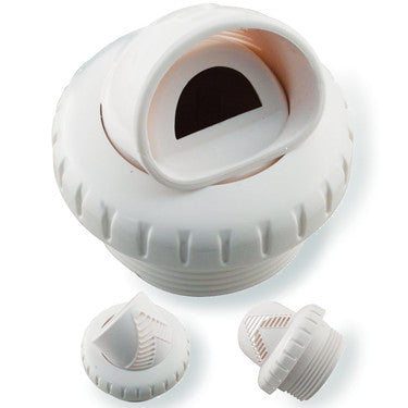 "Infusion V-Fitting, 1.5"", White, Threaded Return"