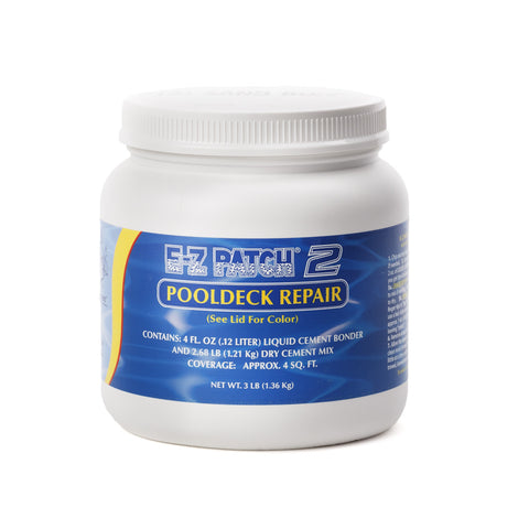 E-Z Patch 2 Buff Pool Deck Surface Repair Kit, 3 Lbs.