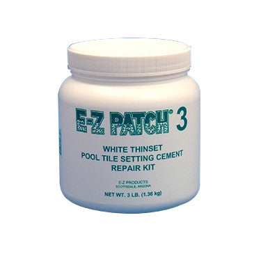 E-Z Patch 3 White Tile Cement Repair Kit, 3 Lbs.