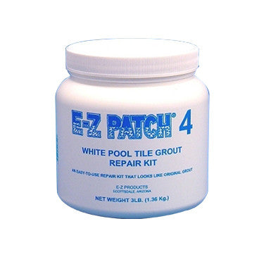 E-Z Patch 4 White Tile Grout Repair Kit, 3 Lbs.