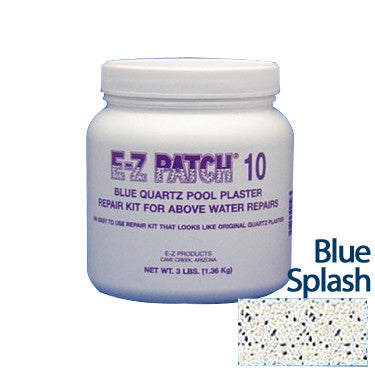 E-Z Patch 10 Blue Splash Quartz Plaster Repair Kit, 3 Lbs.