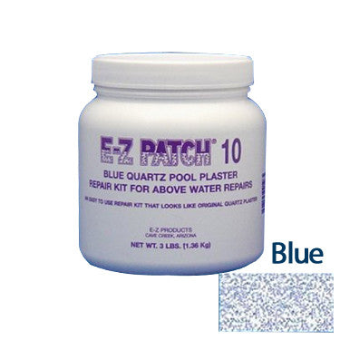 E-Z Patch 10 Blue Quartz Plaster Repair Kit, 3 Lbs.