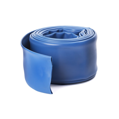 "Pro Series 2"" X 100' Heavy Duty Backwash Hose Blue"