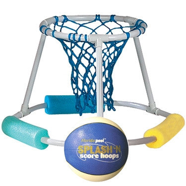Splash N' Score Pool Hoops Floating PVC Basketball