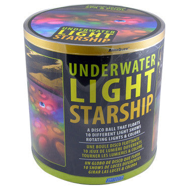 G.A.M.E. Underwater Light Starship