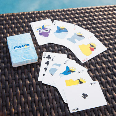G.A.M.E. Waterproof Playing Cards