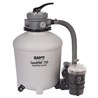 View SandPro 75D 3/4 HP Sand Filter System Product