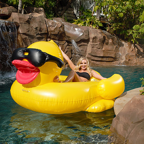 G.A.M.E. Giant Inflatable Derby Duck