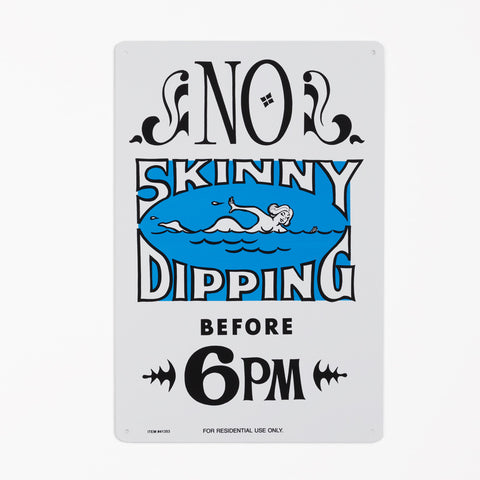 PoolMaster No Skinny Dipping Sign