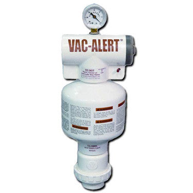 Vac-Alert Safety Vacuum Release System