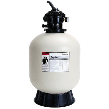 "Pentair Tagelus 24"" Sand Filter with 1.5"" Multiport Valve"