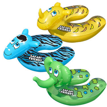 Swimline Safari Friends Baby Seat, Assorted