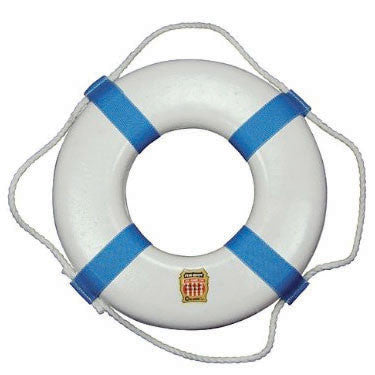 "25"" Foam Ring Buoy White"