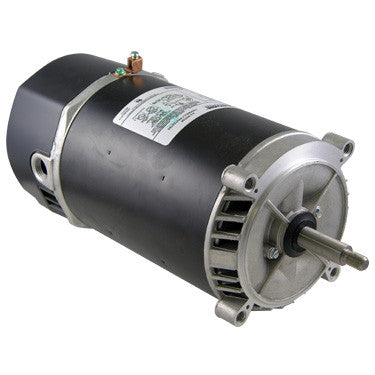 SN Tech 3/4 HP Round Flange Threaded Shaft Uprated Motor