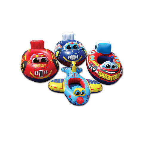 PoolMaster Transportation Baby Rider Assortment (Boat, Train, Plane, Car)