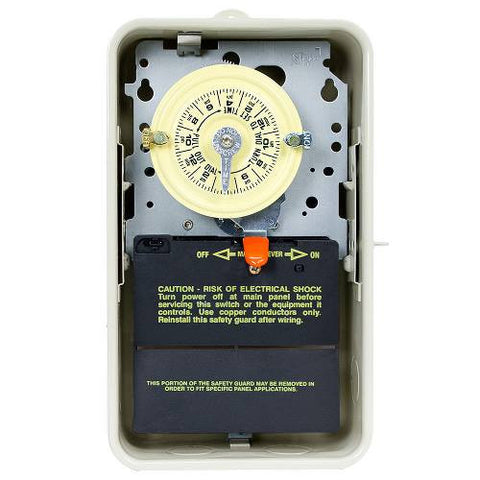 Intermatic T104R3 24-Hour Mechanical Time Switch in Enclosure