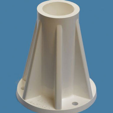 "Surface Mounting Base 6"" White"