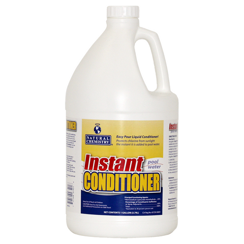 Natural Chemistry Instant Pool Water Conditioner, 1 Gal.