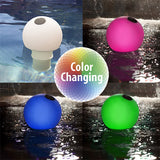 G.A.M.E. Solar Globe Color-Changing Chlorine Dispenser