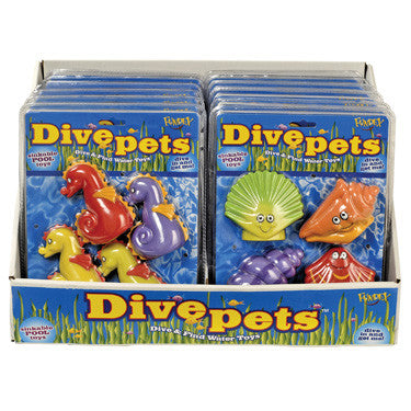 POOF Dive Pets (4 Pack)