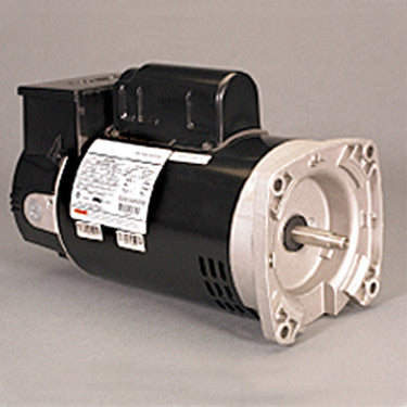 US Motors 2EZ 3/4 HP 2-Speed Square Flange Motor with Time Clock
