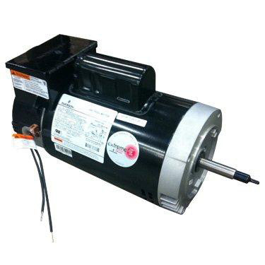US Motors 2EZ 3/4 HP 2-Speed Round Flange Motor with Time Clock