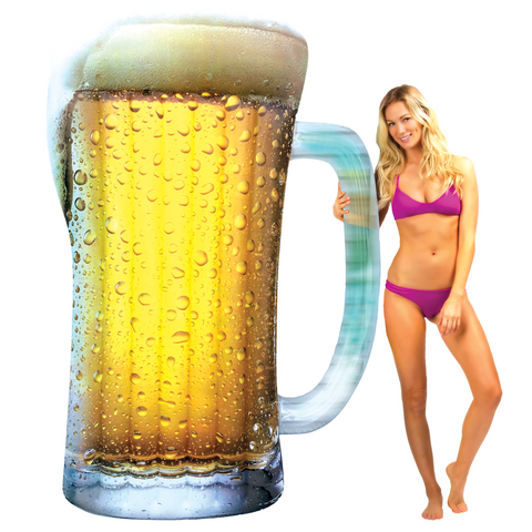 Pool Candy Giant Beer Mug Pool Float
